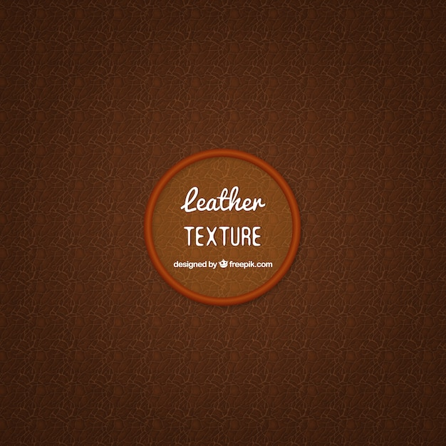 Brown leather texture Free Vector
