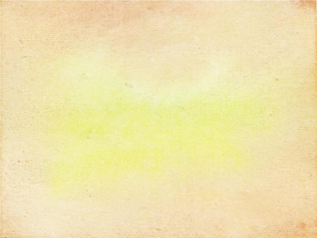 あらゆる目的のための茶色の水彩画の背景。 Premiumベクター