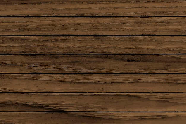 Brown wooden background Free Vector