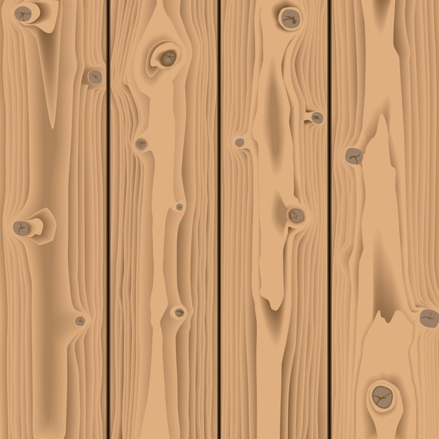 Brown wooden texture background Premium Vector