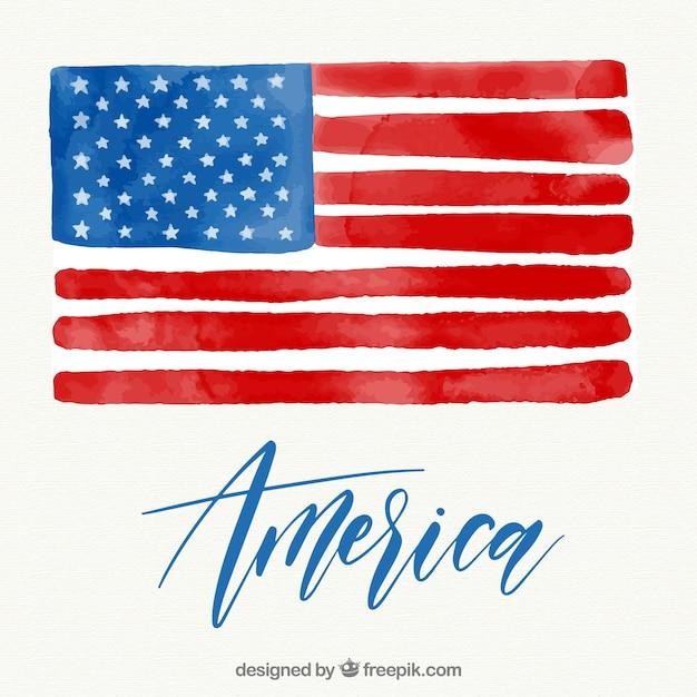 brush stroke american flag vector free download rh freepik com vector american flag grunge vector american flag waving