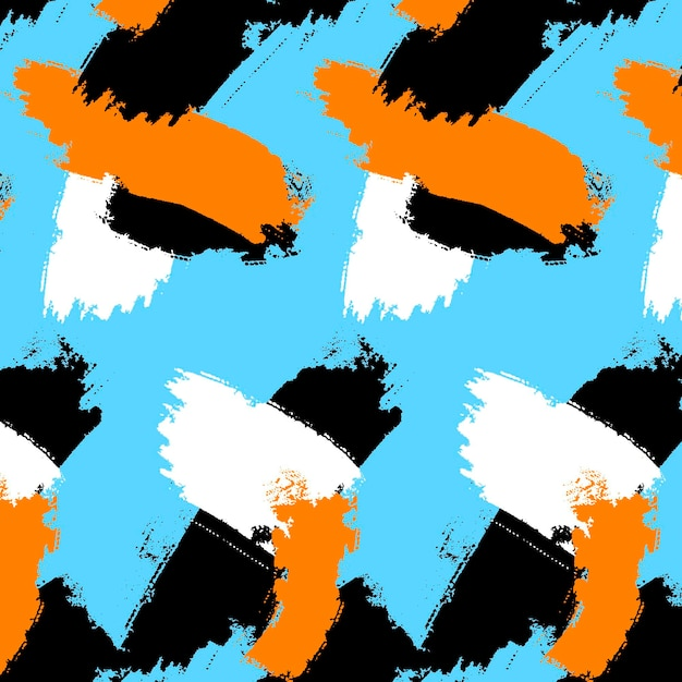 Образец мазка кистью Бесплатные векторы