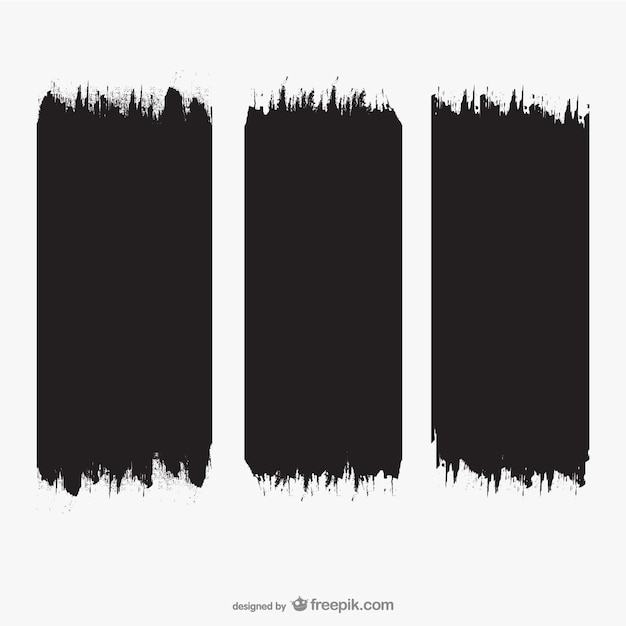 Brush Strokes Texture Free Vector