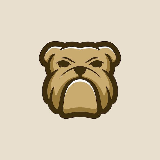 Bulldog logo vector Premium Vector