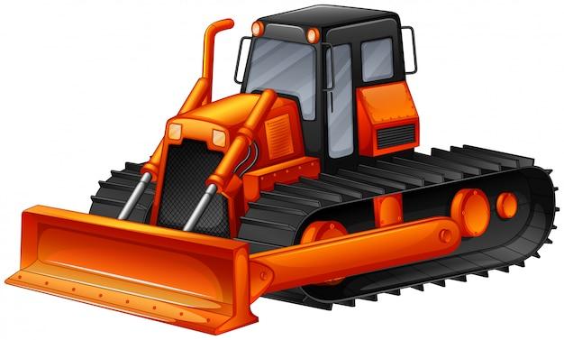 Bulldozer Free Vector