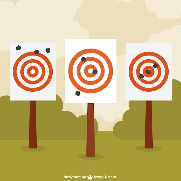 Bullseye Free Vector