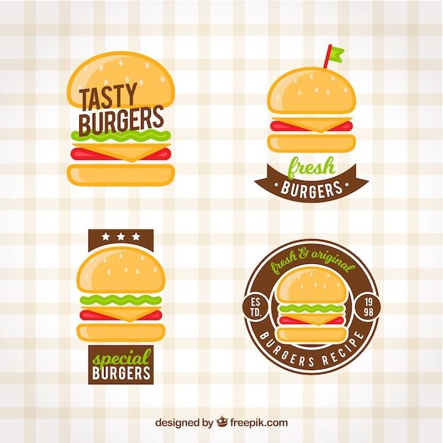 Burger logo collection