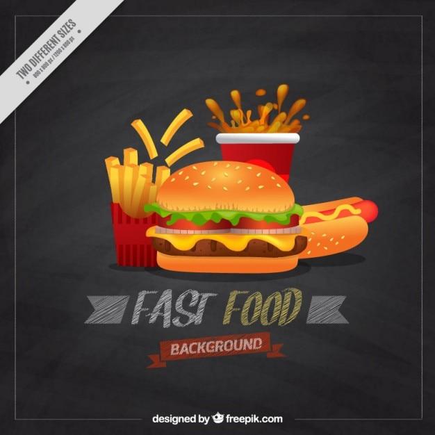 Burger menu background Free Vector