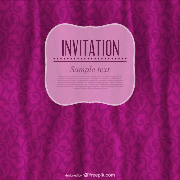 Burgundy vintage invitation vector free download burgundy vintage invitation free vector stopboris Choice Image