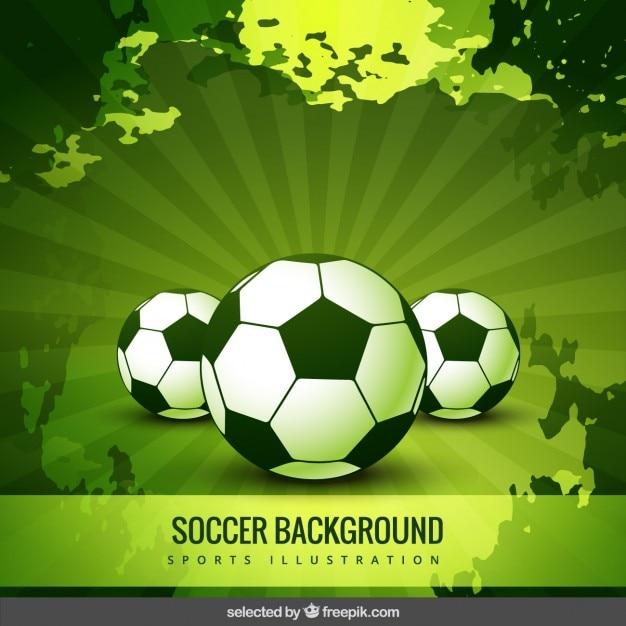 Burst soccer background