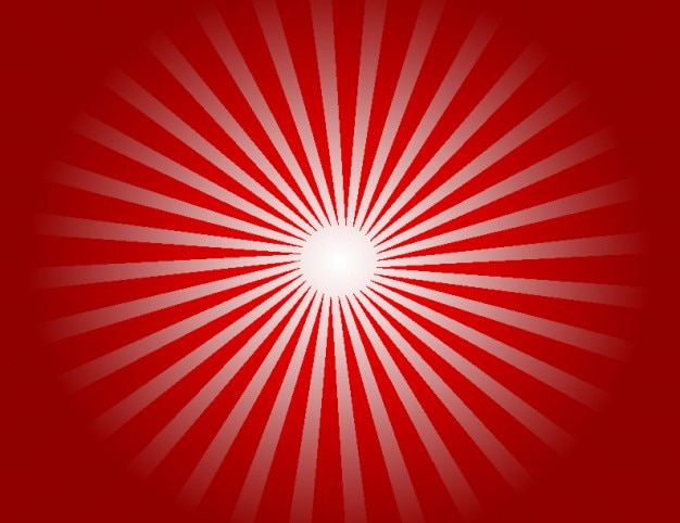 Bursting red background with centered light Vector | Free ...