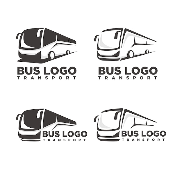 bus logo template vector premium download