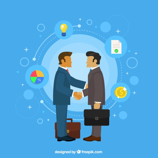 Business agreement background