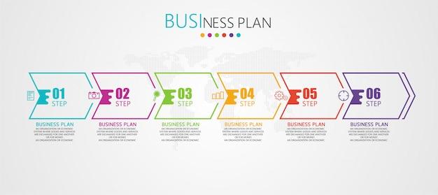 Бизнес и образовательные диаграммы следуют шагам, которые используются, чтобы представить презентацию вместе с исследованием. Premium векторы