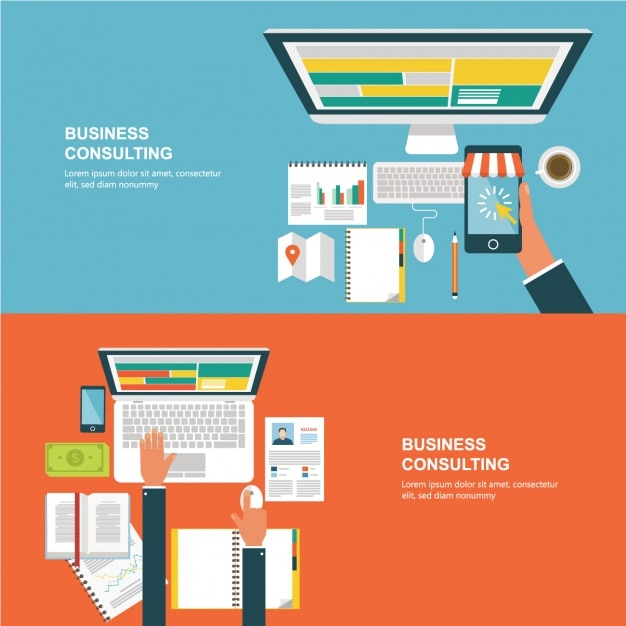 Business background design