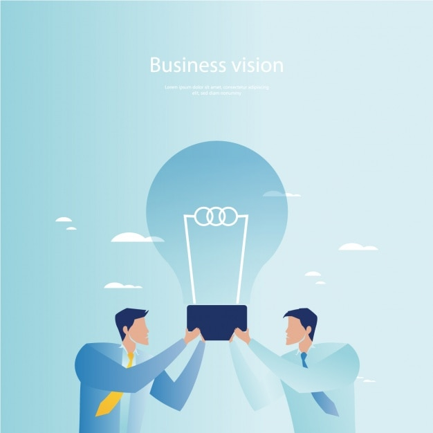 Business background design Free Vector