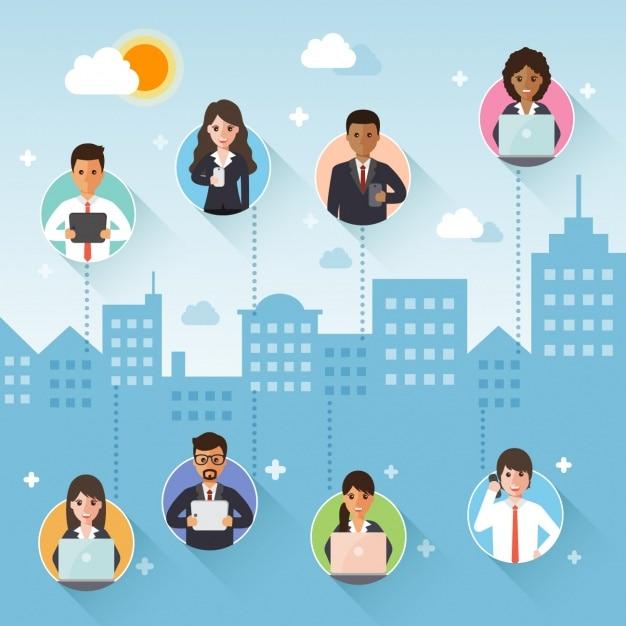 Business Background Design Vector Free Download