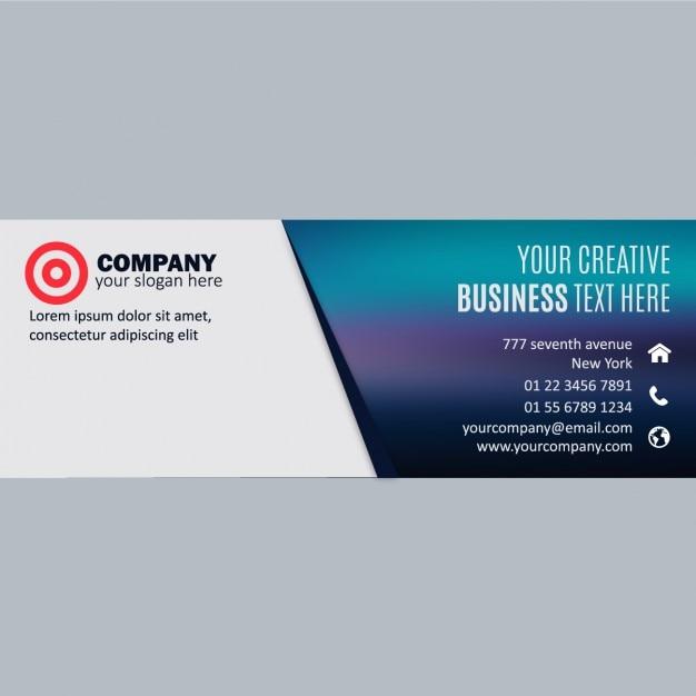 Business banner design Vector | Free Download