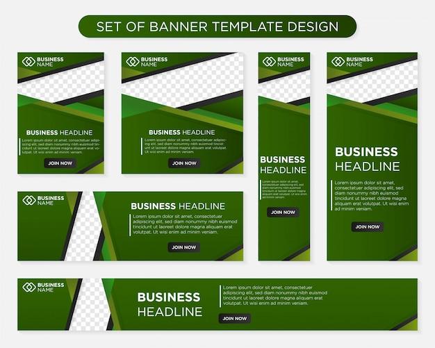 Business banner Premium Vector
