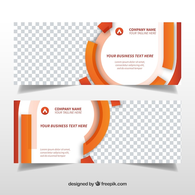 Business banners template