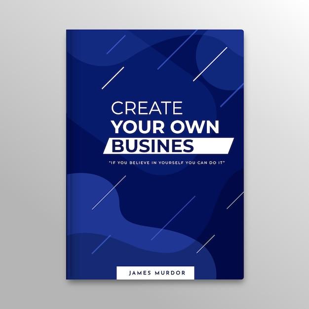 Шаблон обложки бизнес-книги Бесплатные векторы