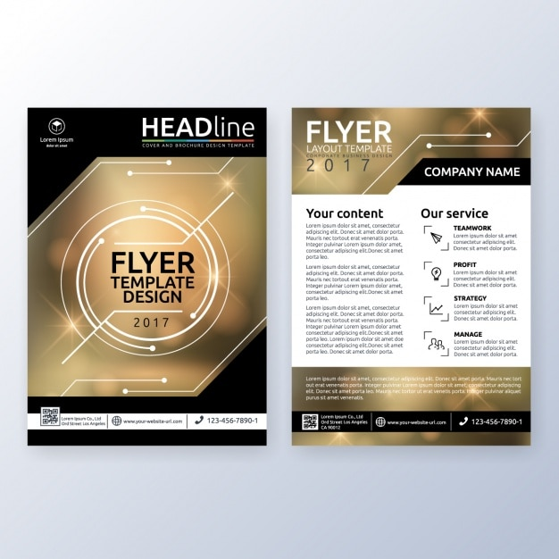 Business Brochure Design Vector | Free Download