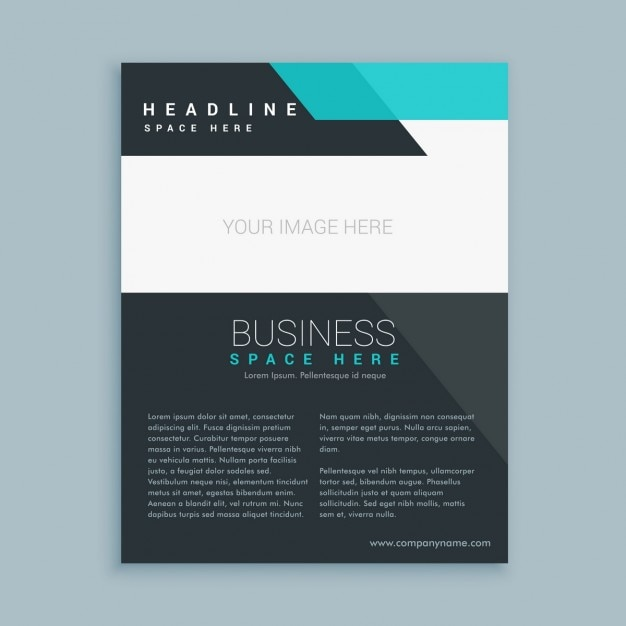 elegant brochure templates - business brochure in elegant style vector free download