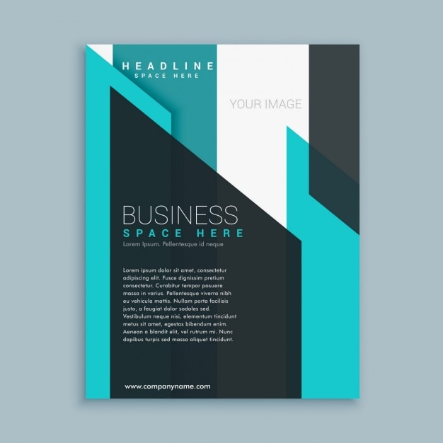 Business brochure template presentation vector free download for Company brochure template free download