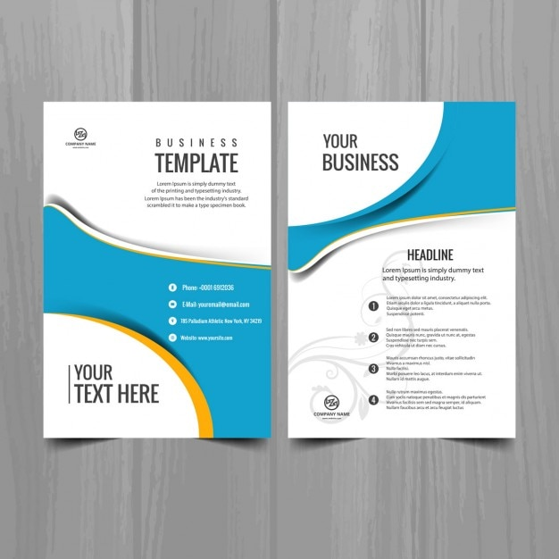 Free Business Brochure Templates Militaryalicious