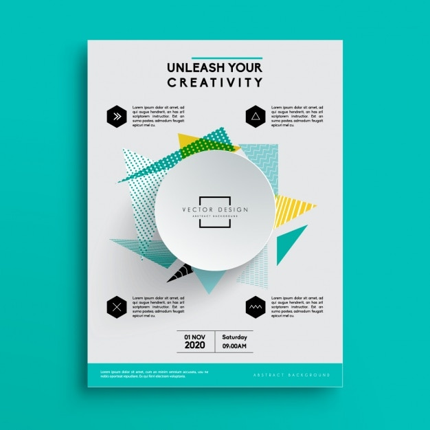 Business Brochure Template Vector Free Download - Business brochure templates free download