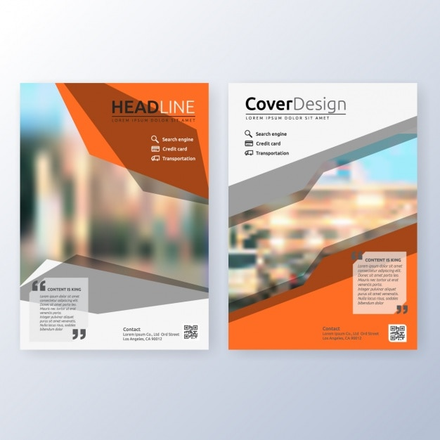 Business brochure template vector free download for Brochure template download