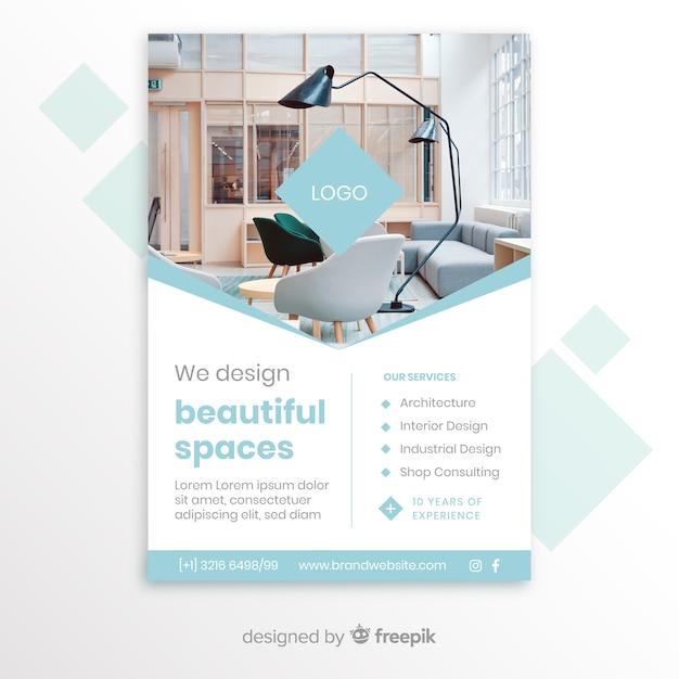 Business brochure Vector | Free Download