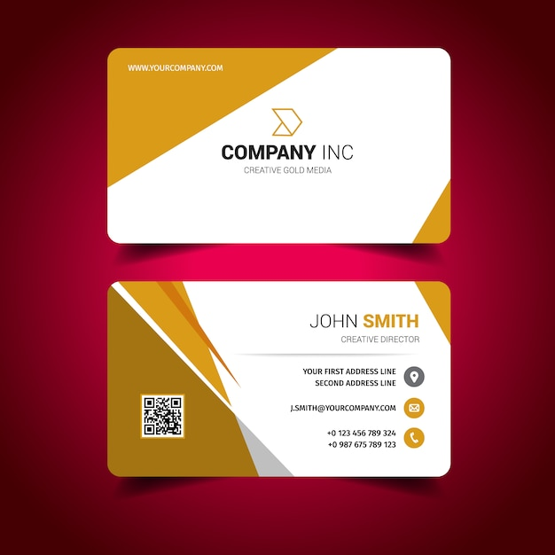 Business card design Vector | Free Download