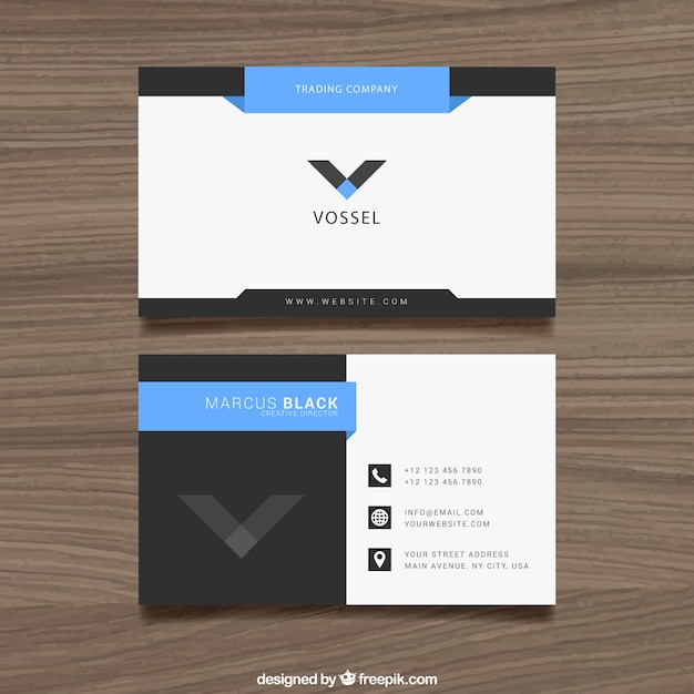 Free business card design acurnamedia business card design vector free download reheart Images