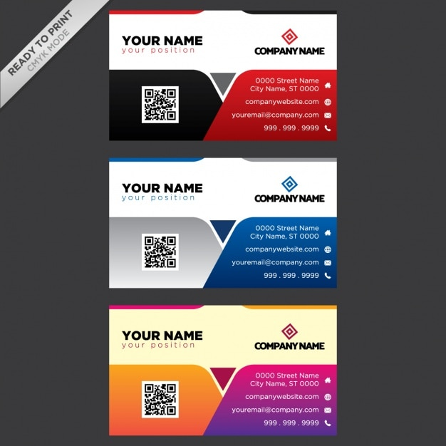 Business card designs Vector | Free Download