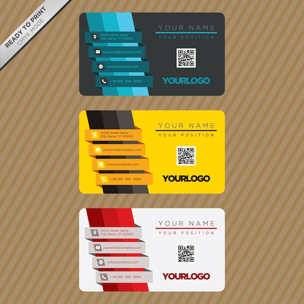 Business card template design vector free download business card template design free vector fbccfo Image collections