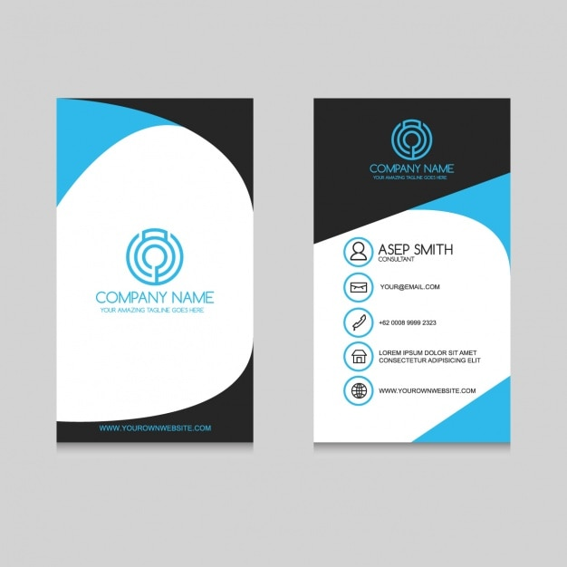 Free vector business card templates alternative clipart design business card template design vector free download rh freepik com free vector fashion business card templates creative business card templates vector free reheart Images