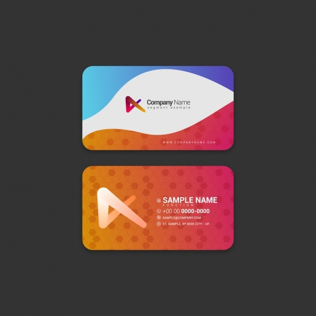 Credit card business card template etamemibawa credit card business card template business card template design fbccfo Gallery