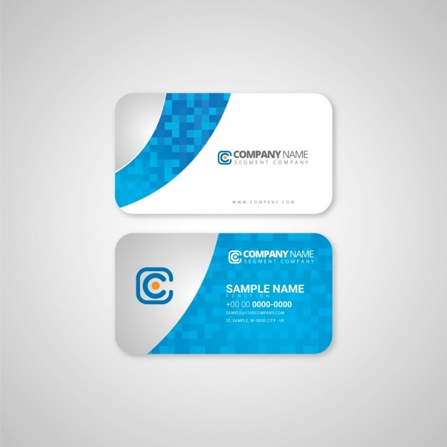 Business Card Template Design Vector Free Download - Business card templates designs
