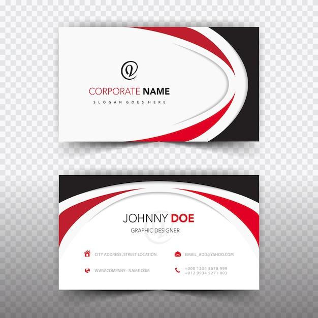 Terrific Business Card Template Design Vector Free Download Interior Design Ideas Skatsoteloinfo