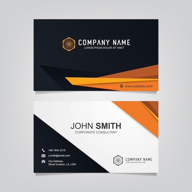 Business card templates Premium Vector