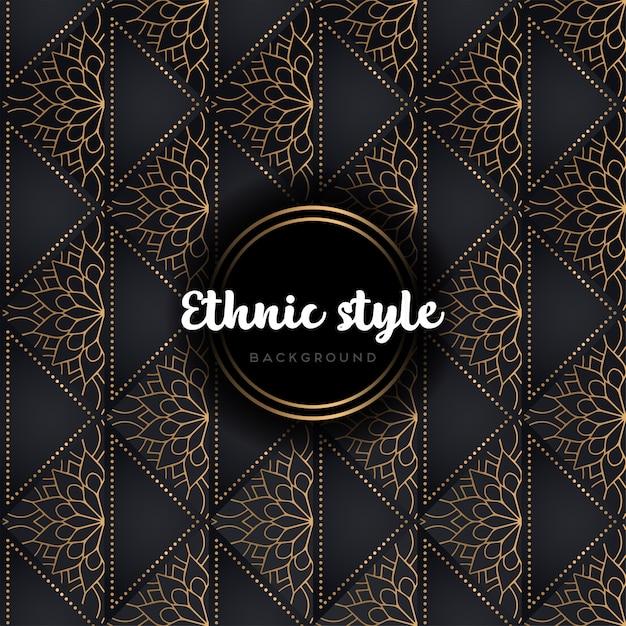 Business card. vintage decorative elements Free Vector