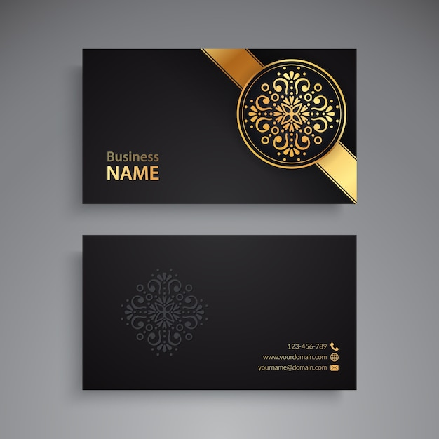 Business card vintage decorative elements vector free download business card vintage decorative elements free vector reheart Images