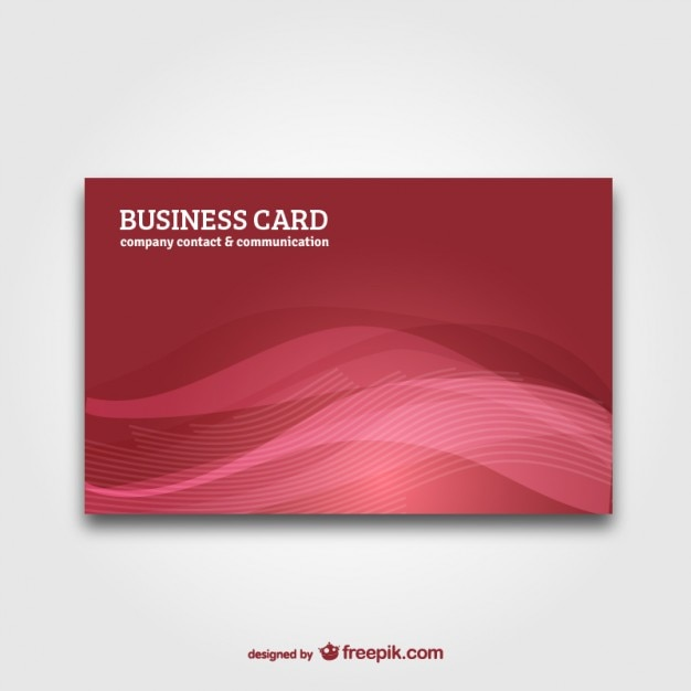 Business card with abstract background vector Vector ...