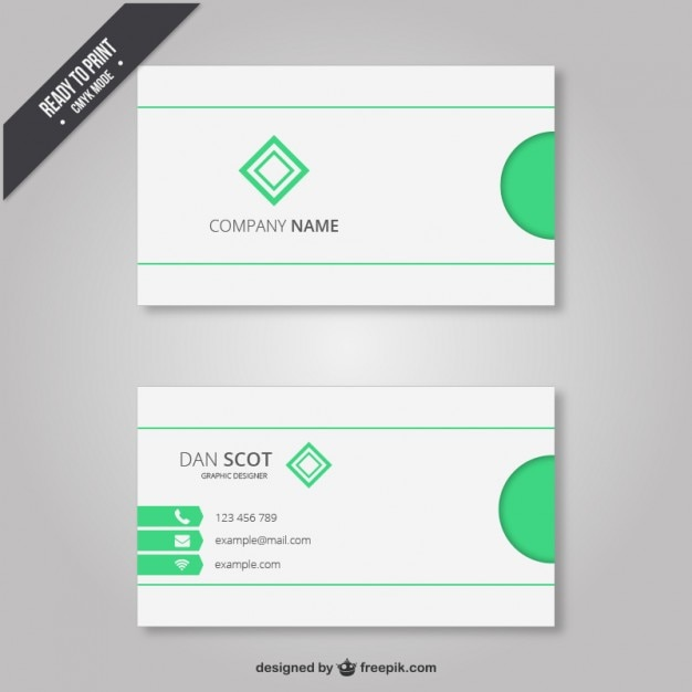 Free business cards elements images card design and card template business card with light green elements vector free download business card with light green elements free reheart Gallery