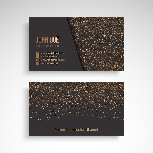 Business card with vintage decorative elements vector free download business card with vintage decorative elements free vector reheart Image collections