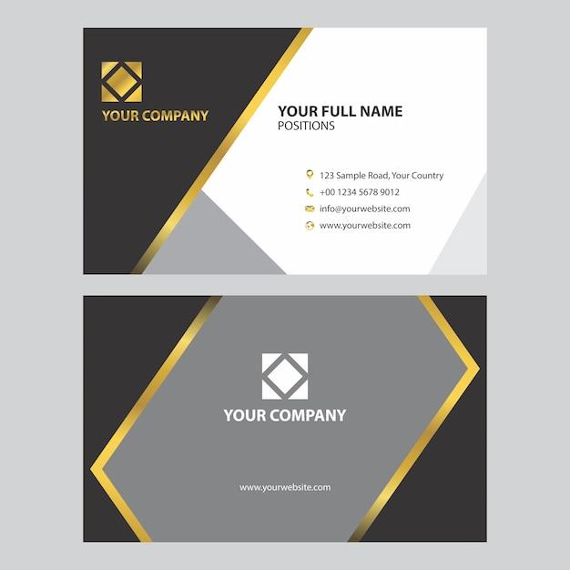 Business Cards Design Template Vector Premium Download