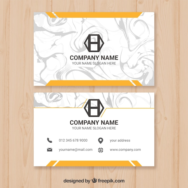 Business cards with marble texture vector free download business cards with marble texture free vector colourmoves
