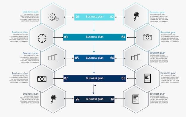 Бизнес-диаграммы используются в бизнес-исследованиях и дизайне Premium векторы