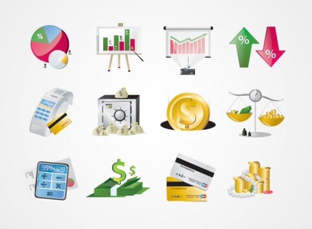 El Dorado Credit Card >> Business, finance, stock market icons Vector | Free Download